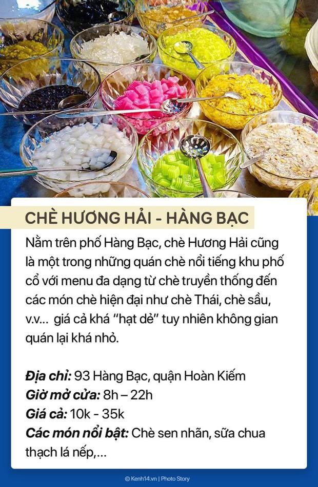 Thời tiết nóng bức, ghé ngay 7 hàng chè trứ danh phố cổ Hà Nội để giải nhiệt - Ảnh 5.