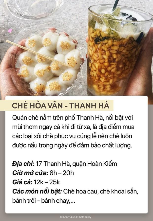 Thời tiết nóng bức, ghé ngay 7 hàng chè trứ danh phố cổ Hà Nội để giải nhiệt - Ảnh 7.