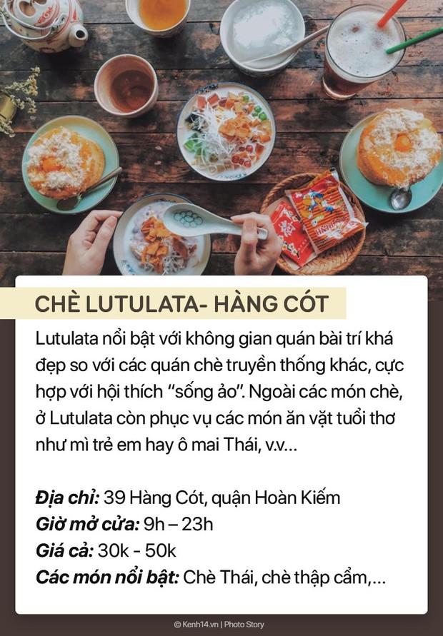 Thời tiết nóng bức, ghé ngay 7 hàng chè trứ danh phố cổ Hà Nội để giải nhiệt - Ảnh 11.