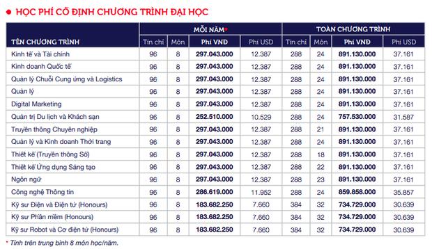 Top những trường ĐH có học phí cao nhất Việt Nam, RMIT chắc chắn đứng đầu nhưng trường thứ 2 mới bất ngờ - Ảnh 1.