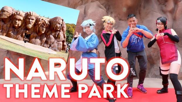 Có gì tại công viên chủ đề Naruto vừa được Nhật Bản trình làng khiến các fan cứng bộ truyện đứng ngồi không yên? - Ảnh 2.