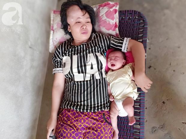 """Người mẹ mang khối u khổng lồ, giành giật sự sống từng ngày để sinh con: """"Em muốn nhìn con lớn một chút nữa rồi chết - Ảnh 1."""
