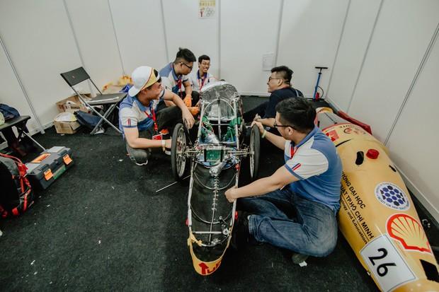 Tường thuật: Rạng danh sinh viên Việt trên đường đua tầm cỡ thế giới: 5 mẫu xe tiết kiệm nhiên liệu tranh tài với gần 100 đội thi - Ảnh 12.