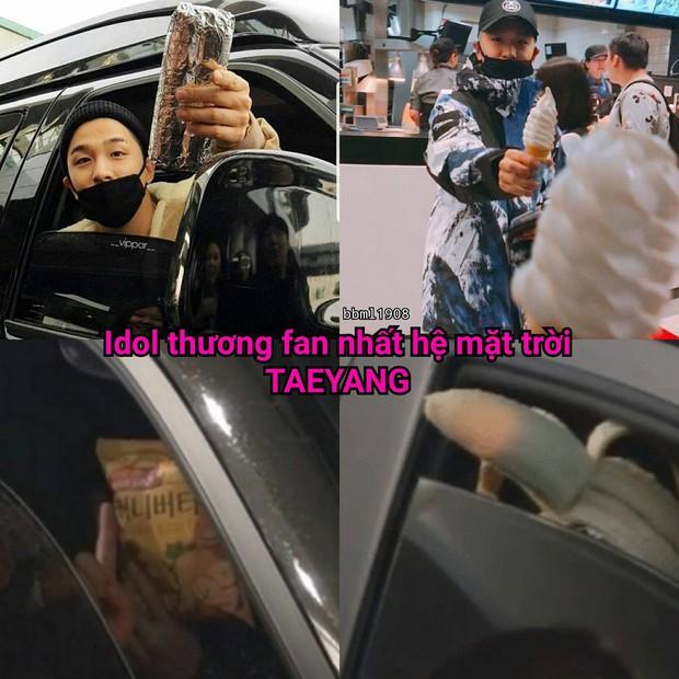 Kiếm được idol nào chiều fan như Taeyang, cứ có miếng ngon là chia ngay cho fan ăn cùng - Ảnh 9.