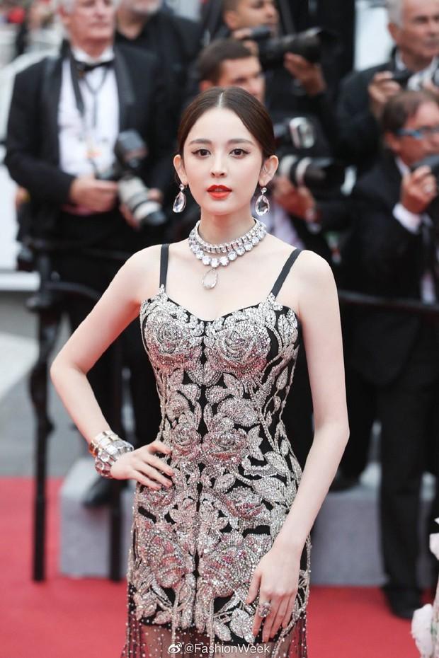 Mỹ nhân bị nhầm với Ngọc Trinh: Nàng công chúa Hoa ngữ đẹp ná thở tại Cannes bất chấp ảnh không photoshop - Ảnh 3.