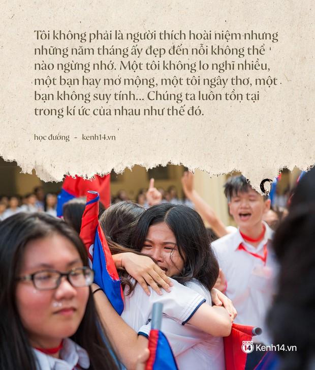 Tại sao học sinh lớp 12 khóc như mưa trong ngày bế giảng nhưng vài năm sau họp lớp không ai đi? - Ảnh 1.