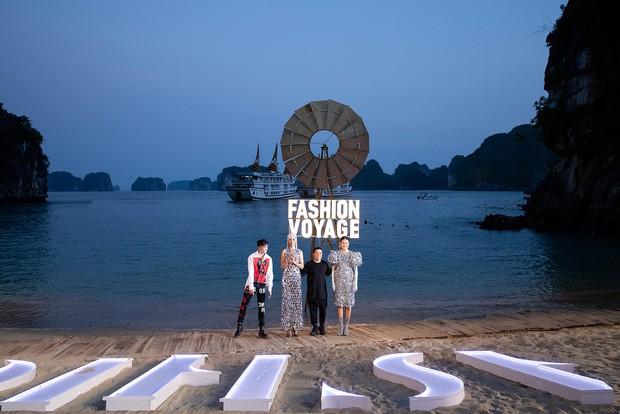 Trình diễn trên đảo hoang sơ, Fashion Voyage có những khoảnh khắc đẹp nín thở, tôn trọn vẹn vẻ đẹp kỳ quan của Vịnh Hạ Long - Ảnh 20.