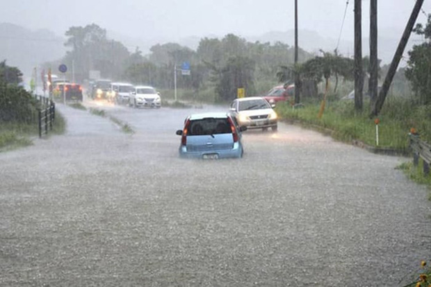 Nhật Bản nỗ lực giải cứu 262 người mắc kẹt trên núi do mưa lớn - Ảnh 1.