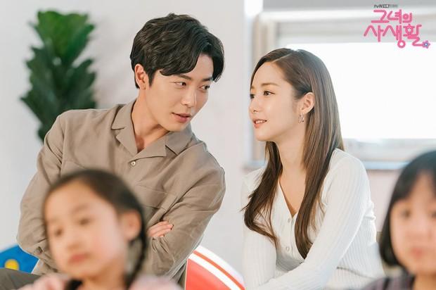 """Nhìn Park Min Young bên cạnh Kim Jae Wook tình tứ không chớp mắt, ai cũng mong """"phim giả tình thật"""" quá đi! - Ảnh 2."""
