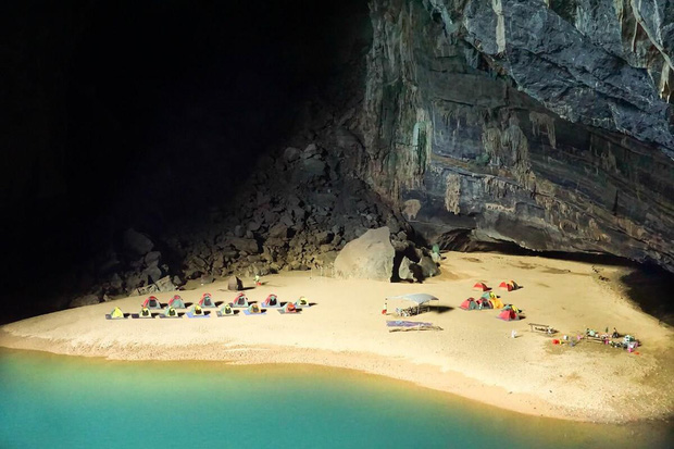 Sửng sốt khi phát hiện kích thước mới của hang Sơn Đoòng: Tăng thêm 1,6 triệu m3, nâng tổng diện tích lên tới 40,1 triệu m3 - Ảnh 1.