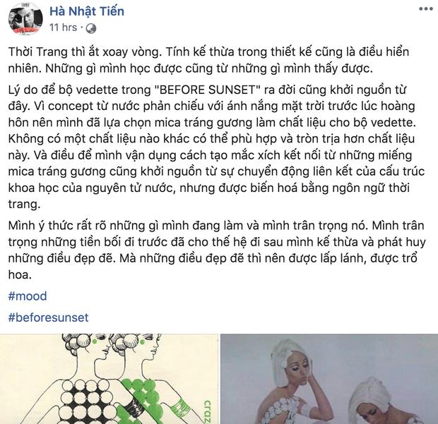 """Drama làng thiết kế: Tố Hà Nhật Tiến đạo nhái mình, Lưu Ngọc Kim Khanh lại bị netizen bóc ngược là cũng """"vay mượn"""" ý tưởng không ít - Ảnh 4."""