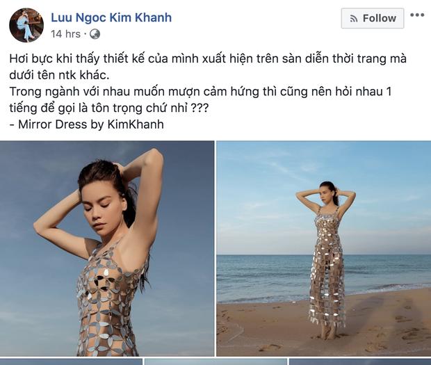 """Drama làng thiết kế: Tố Hà Nhật Tiến đạo nhái mình, Lưu Ngọc Kim Khanh lại bị netizen bóc ngược là cũng """"vay mượn"""" ý tưởng không ít - Ảnh 2."""