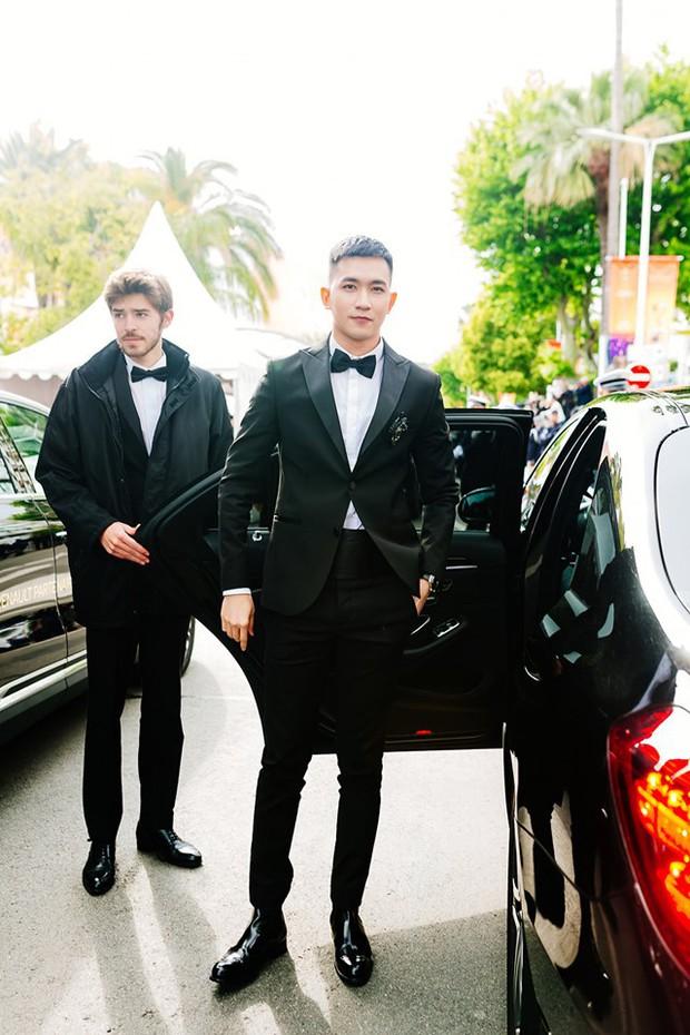 Không chọn ồn ào như Ngọc Trinh, Võ Cảnh lịch lãm xuất hiện trên thảm đỏ Cannes ngày thứ 6 - Ảnh 11.