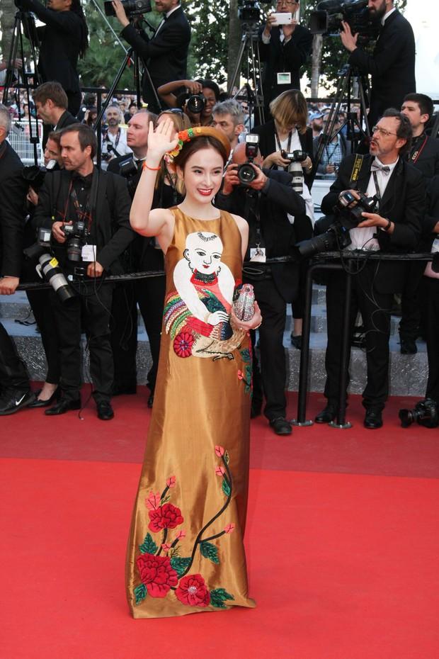 Sao Việt đến Cannes qua các mùa: Người vinh dự có tác phẩm, kẻ tơ hơ không ai biết xuất hiện để làm gì - Ảnh 22.