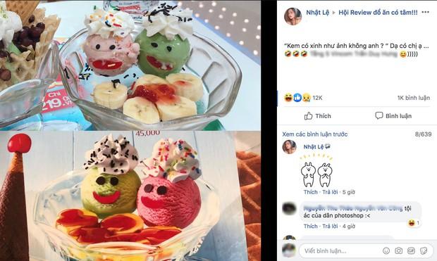 Dân mạng trầm trồ vì hình ảnh cốc kem hàng thật và hình quảng cáo chẳng khác nào ảnh ava và ảnh bạn chụp hộ - Ảnh 2.