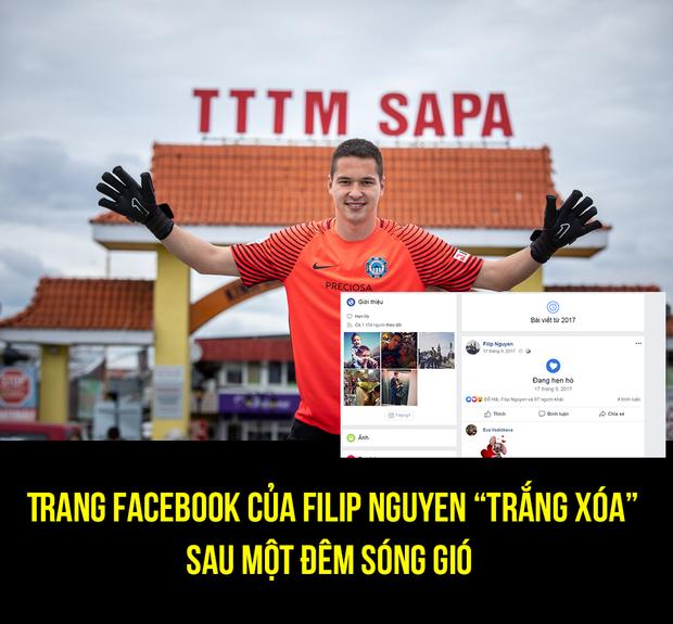 Thủ môn Việt kiều Filip Nguyễn xoá nhiều bạn bè Việt Nam trên Facebook sau sự cố google translate - Ảnh 1.