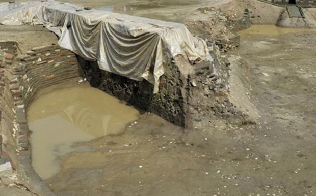 Phát hiện tường thành cổ ở Tây Nam Trung Quốc - Ảnh 1.