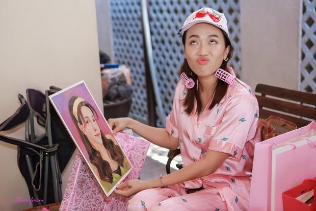 Diệu Nhi bất ngờ được fan tổ chức sinh nhật lúc đang ngủ để lộ mặt mộc và loạt biểu cảm vô cùng hài hước - Ảnh 6.