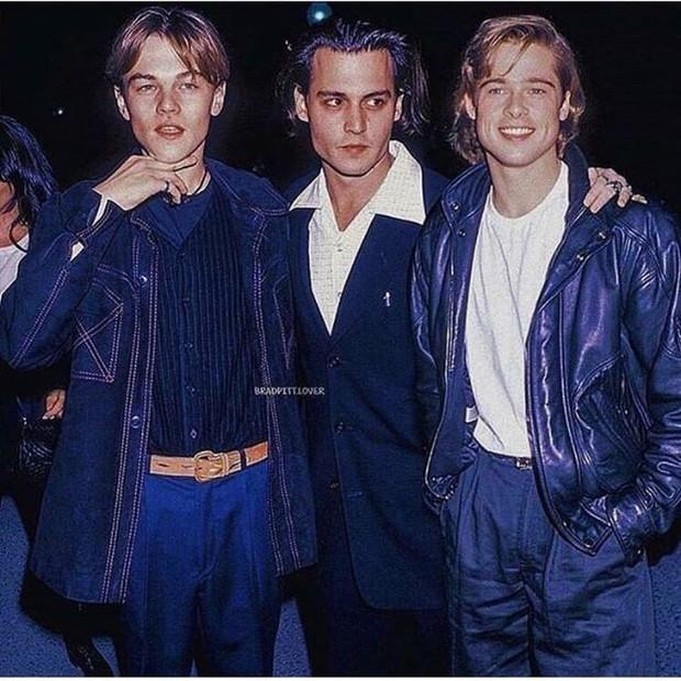 Choáng với ảnh Brad Pitt và Leonardo hiện tại và 30 năm trước: Vẫn xứng danh cặp tài tử sát gái nhất Hollywood! - Ảnh 2.