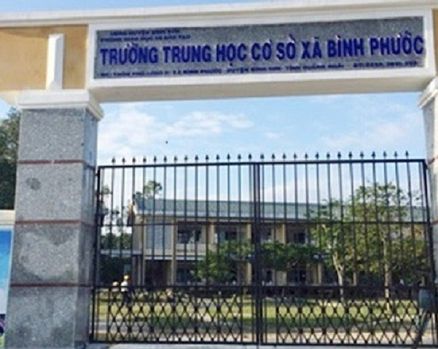 Vô cớ đánh học sinh, thầy giáo ở Quảng Ngãi bị chẩn đoán mắc bệnh tâm thần - Ảnh 1.