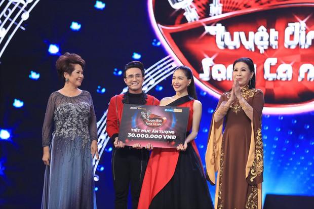 Tuyệt đỉnh song ca nhí 2019 kết thúc với chiến thắng của đội Hồ Việt Trung - Diệu Nhi - Ảnh 6.