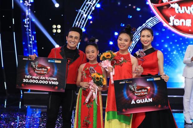 Tuyệt đỉnh song ca nhí 2019 kết thúc với chiến thắng của đội Hồ Việt Trung - Diệu Nhi - Ảnh 3.