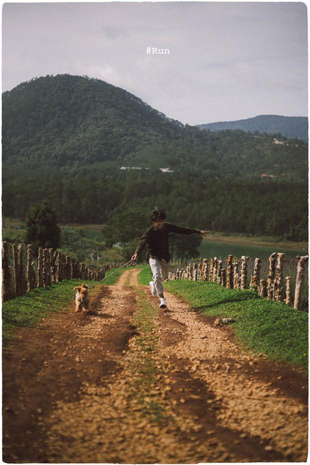 Ngắm bộ ảnh trai đẹp du lịch cùng cún cưng này mới thấy: Đi Đà Lạt với người yêu hay bạn thân là xưa rồi! - Ảnh 29.