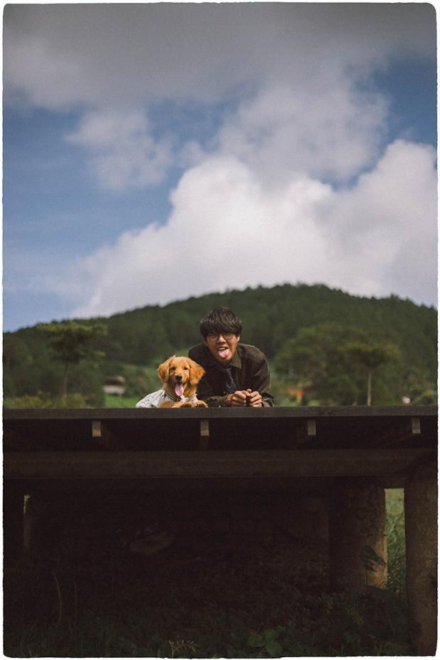 Ngắm bộ ảnh trai đẹp du lịch cùng cún cưng này mới thấy: Đi Đà Lạt với người yêu hay bạn thân là xưa rồi! - Ảnh 15.
