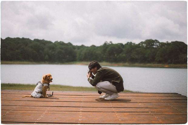 Ngắm bộ ảnh trai đẹp du lịch cùng cún cưng này mới thấy: Đi Đà Lạt với người yêu hay bạn thân là xưa rồi! - Ảnh 26.