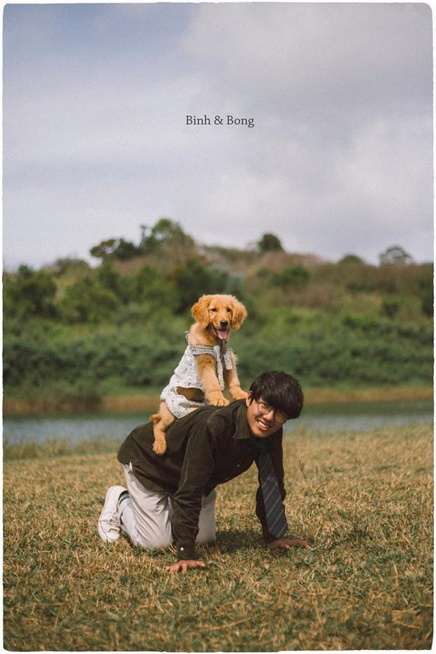 Ngắm bộ ảnh trai đẹp du lịch cùng cún cưng này mới thấy: Đi Đà Lạt với người yêu hay bạn thân là xưa rồi! - Ảnh 4.