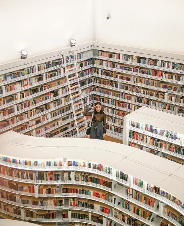 Lộ diện thư viện sống ảo đẹp nhất Singapore cực hiếm người biết, nơi bước 1 bước là chụp được 10 kiểu ảnh! - Ảnh 9.