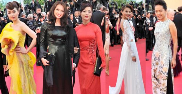 Sao Việt đến Cannes qua các mùa: Người vinh dự có tác phẩm, kẻ tơ hơ không ai biết xuất hiện để làm gì - Ảnh 7.