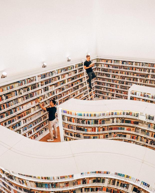 Lộ diện thư viện sống ảo đẹp nhất Singapore cực hiếm người biết, nơi bước 1 bước là chụp được 10 kiểu ảnh! - Ảnh 7.