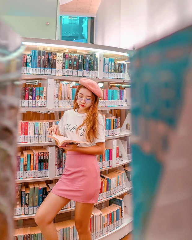 Lộ diện thư viện sống ảo đẹp nhất Singapore cực hiếm người biết, nơi bước 1 bước là chụp được 10 kiểu ảnh! - Ảnh 26.