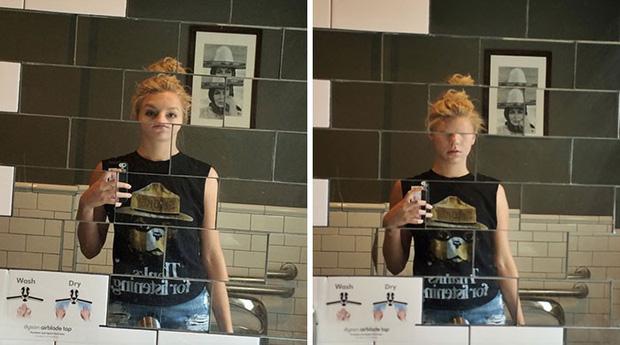 """15 kiểu gương """"kinh dị"""" khắc tinh của hội thích selfie, nhìn xong cụt hết cả hứng - Ảnh 13."""