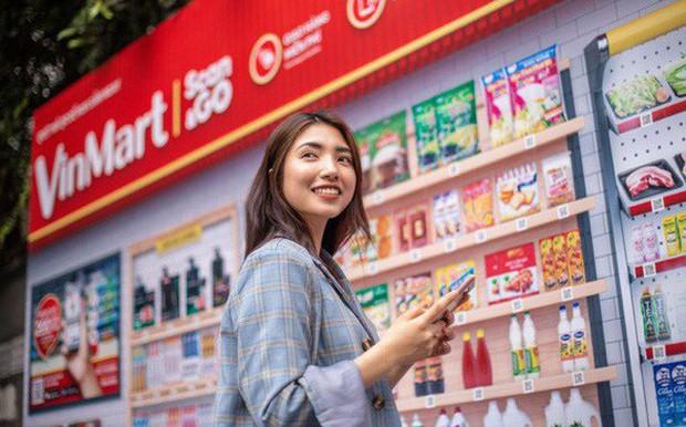 """Vingroup mở """"siêu thị ảo đầu tiên tại Việt Nam: Mua sắm chỉ cần quét mã, 2 tiếng sau hàng tới tận nhà - Ảnh 1."""