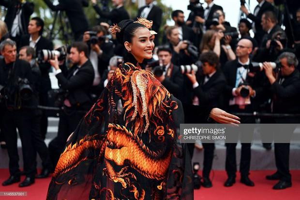Không có Lý Nhã Kỳ thì đã có Trương Thị May mang áo dài Việt lên thảm đỏ LHP Cannes - Ảnh 5.