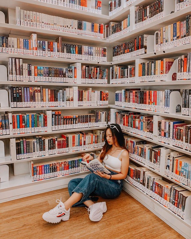 Lộ diện thư viện sống ảo đẹp nhất Singapore cực hiếm người biết, nơi bước 1 bước là chụp được 10 kiểu ảnh! - Ảnh 8.
