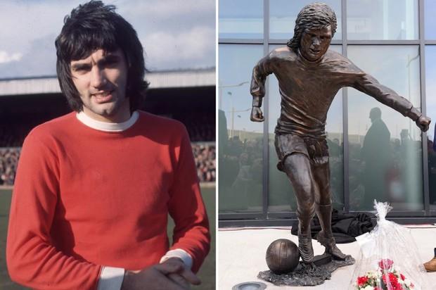 Sau Ronaldo, cộng đồng mạng lại thêm một lần phì cười với bức tượng xấu ma chê quỷ hờn của huyền thoại MU - Ảnh 1.
