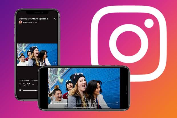 Góc chột dạ: Instagram vừa phải cho phép đăng video ngang trên IGTV vì sợ... chết yểu - Ảnh 2.