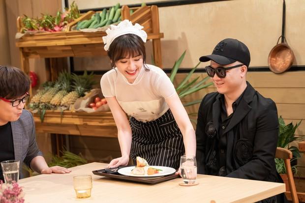 Hari Won làm cô phục vụ cho Minh Hằng, Lan Ngọc, Eunjung (T-ara)... trong show thực tế mới - Ảnh 10.