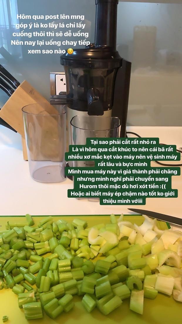 Salim nhập hội uống nước ép cần tây: đây là những trải nghiệm rất chân thực từ cô nàng - Ảnh 7.
