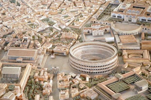 Tuyệt thế kỳ công: Mất 38 năm để hoàn thiện mô hình thành Rome cổ đại tỷ lệ 1:250 - Ảnh 1.