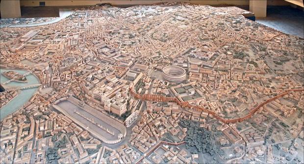 Tuyệt thế kỳ công: Mất 38 năm để hoàn thiện mô hình thành Rome cổ đại tỷ lệ 1:250 - Ảnh 2.