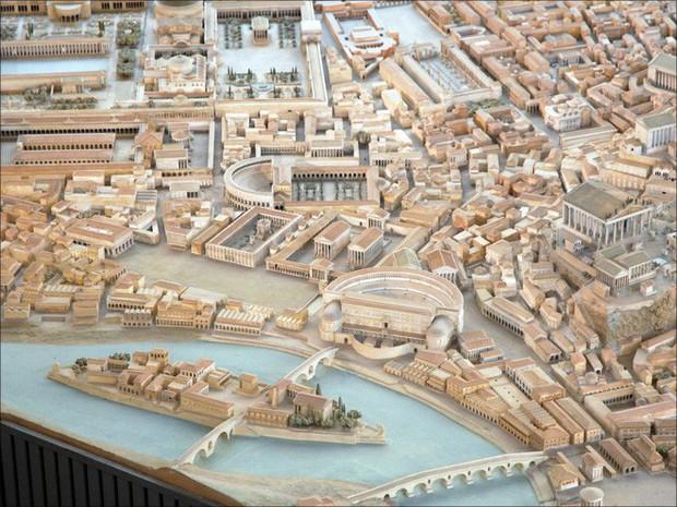 Tuyệt thế kỳ công: Mất 38 năm để hoàn thiện mô hình thành Rome cổ đại tỷ lệ 1:250 - Ảnh 3.