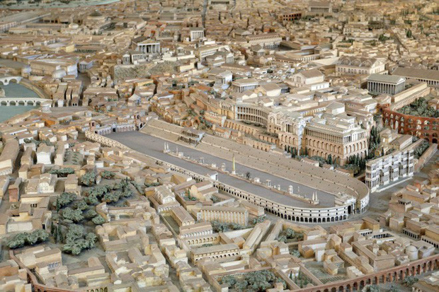 Tuyệt thế kỳ công: Mất 38 năm để hoàn thiện mô hình thành Rome cổ đại tỷ lệ 1:250 - Ảnh 5.