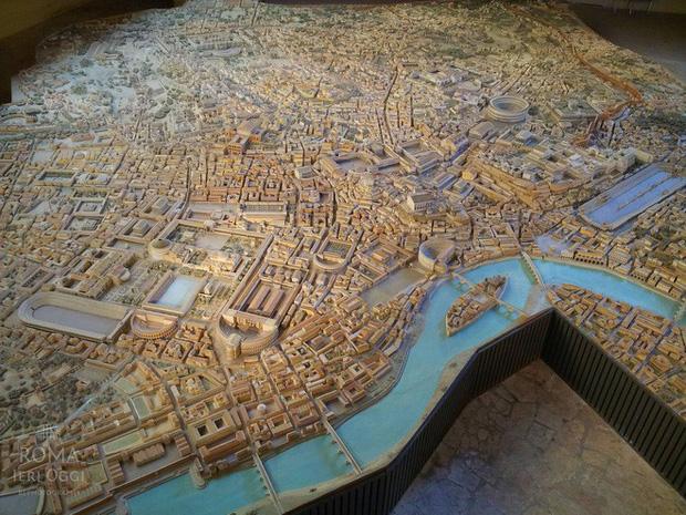 Tuyệt thế kỳ công: Mất 38 năm để hoàn thiện mô hình thành Rome cổ đại tỷ lệ 1:250 - Ảnh 6.