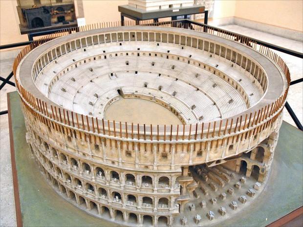 Tuyệt thế kỳ công: Mất 38 năm để hoàn thiện mô hình thành Rome cổ đại tỷ lệ 1:250 - Ảnh 4.