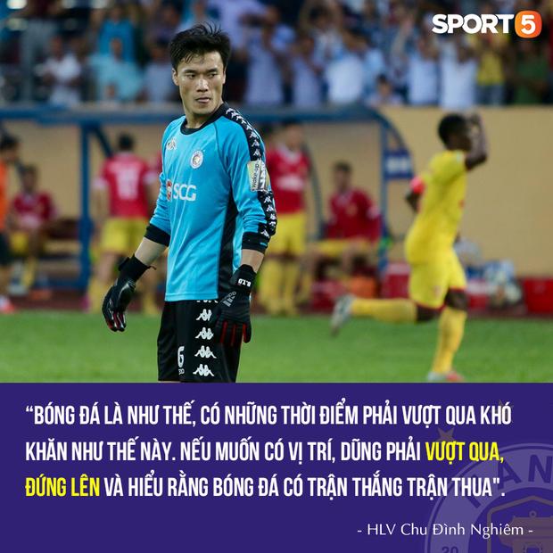 HLV Hà Nội FC hết lòng bảo vệ Bùi Tiến Dũng sau trận thua muối mặt trước Nam Định - Ảnh 1.
