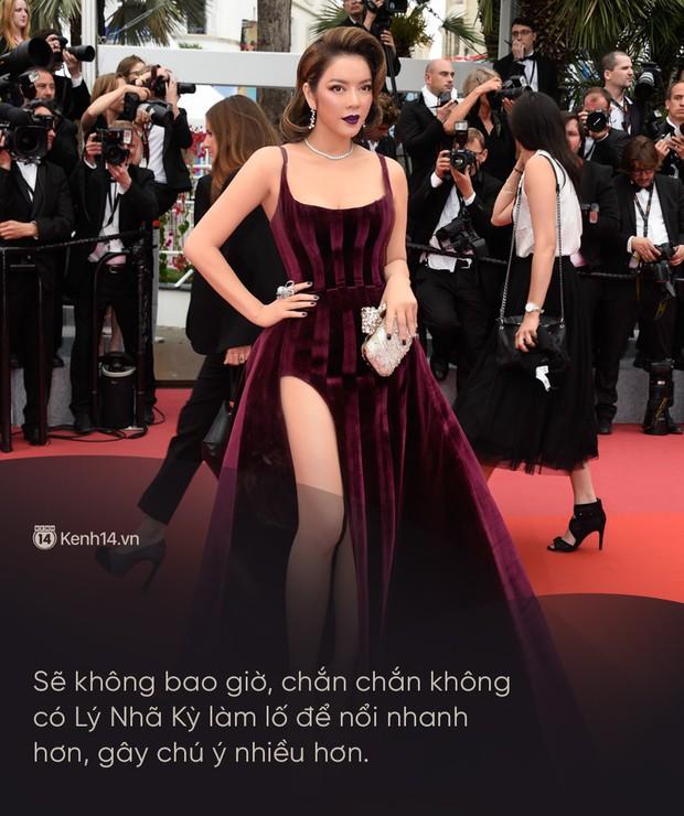 Lý Nhã Kỳ: Tự bỏ tiền túi đi Cannes là ngốc nghếch, thực chất chỉ làm khán giả vô danh - Ảnh 16.